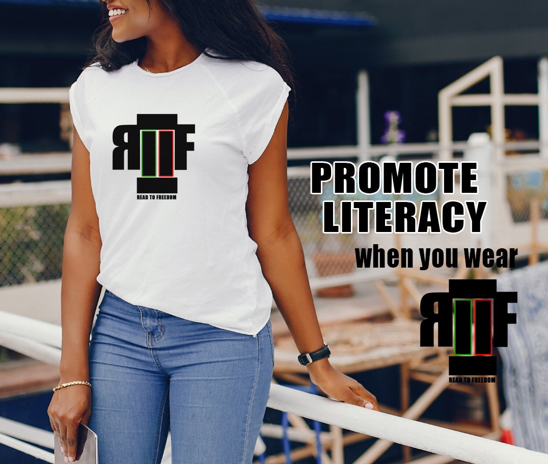 READ TO FREEDOM Logo Line of Apparel